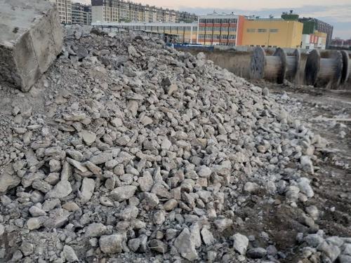 Обломки зданий и сооружений
